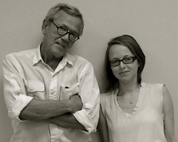 Writer-Director Rick Davis and Director Melanie O'Meara.jpg