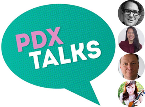PDX talk image with speaker headshots