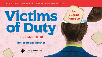 Victims of Duty info poster
