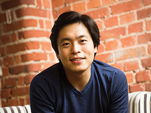 photo of Sunwook Kim looking at the camera